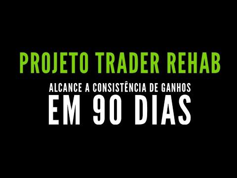 """Projeto Trader Rehab - Um programa de trade pra te tirar da fase """"perdedor consistente"""""""
