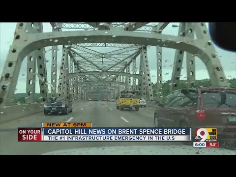 Brent Spence Bridge called the No. 1 'infrastructure emergency' in the United States