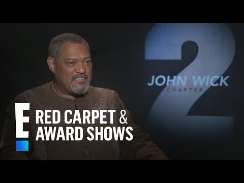 Laurence Fishburne Would Love to Work With The Rock | E! Live from the Red Carpet