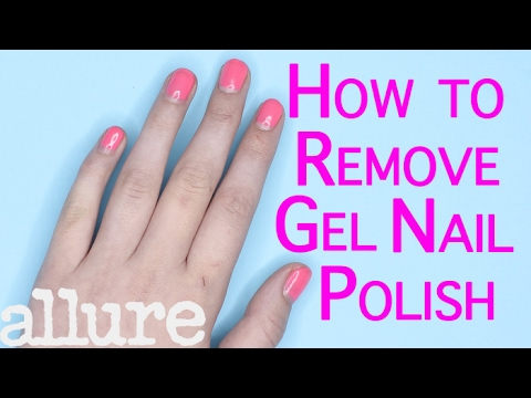 how to remove gel nail polish youtube. Black Bedroom Furniture Sets. Home Design Ideas