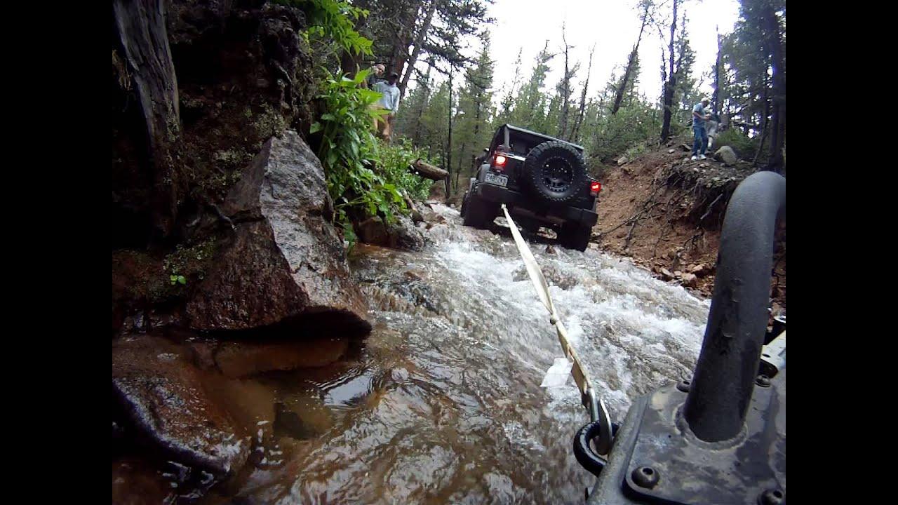 Black Bear Pass Colorado >> I got stuck... Jenny Creek Trail Colorado - YouTube