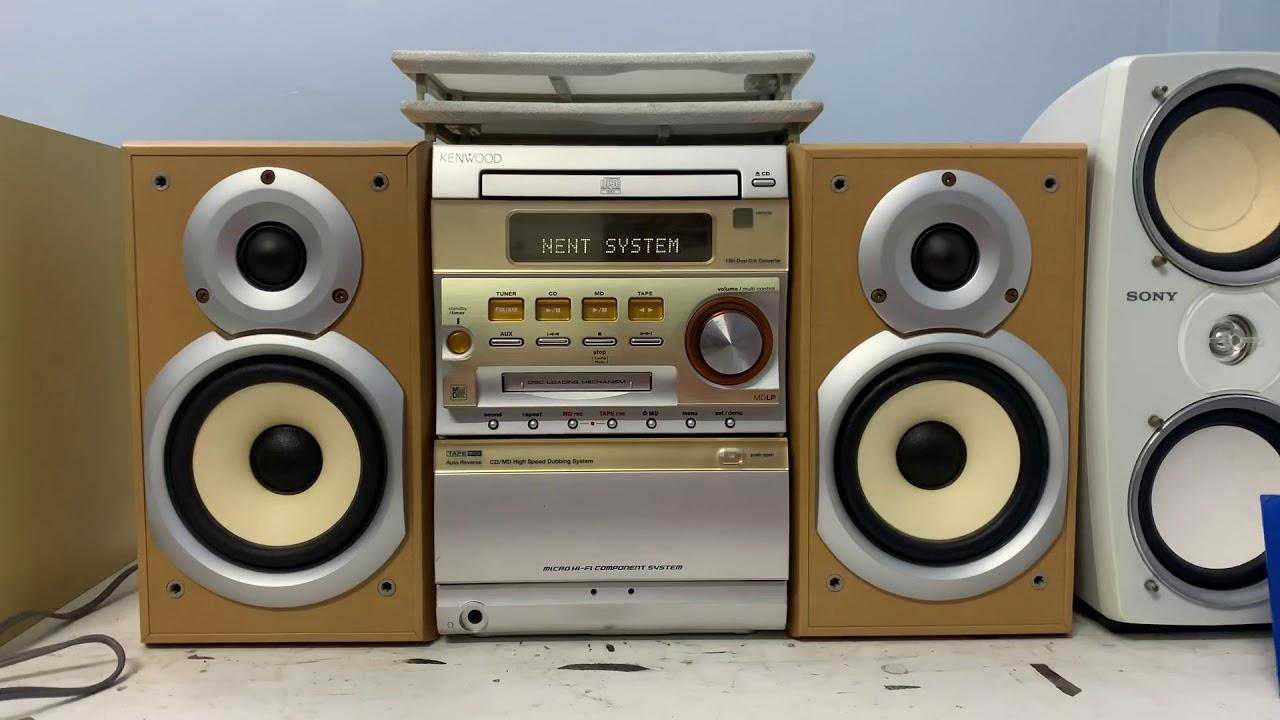 Mini bass 12cm KENWOOD SJ3MD📌GIÁ 900K(tặng đĩa md),chuyển đủ tặng dây kết nối ĐT☎️0931.008.099(zalo