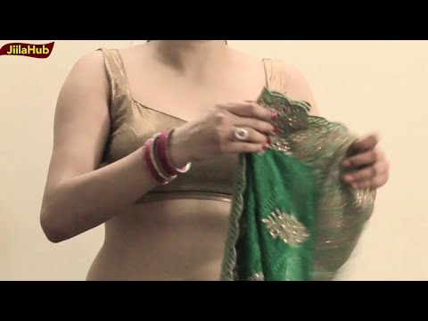 Properly Saree Draping Video | Learn How To Wear Indian Designer Saree Blouse