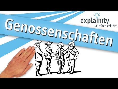 Genossenschaften einfach erklärt (explainity® Erklärvideo)