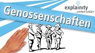 Cooperative Society easy explained (explainity®)