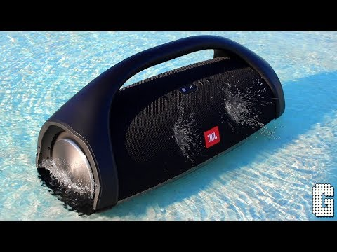 JBL Boombox Review : INSANE EXTREME BASS!