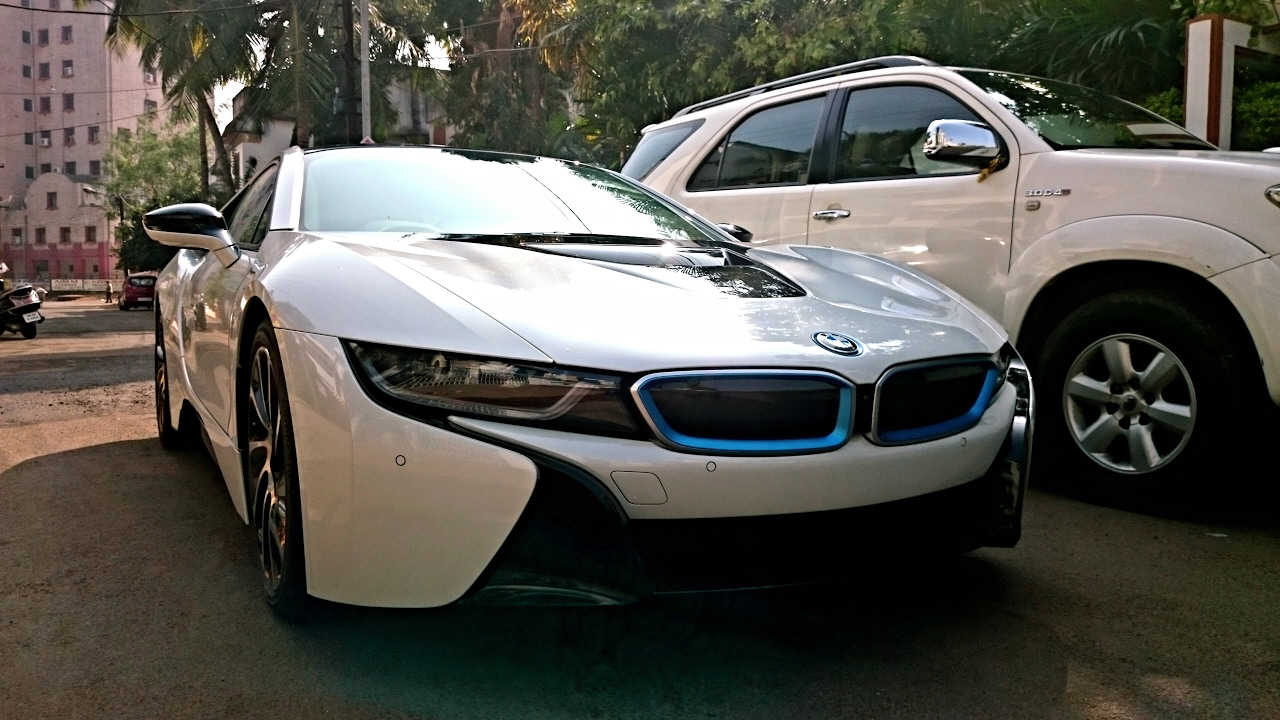 Odisha S 1st Hybrid Supercar Bmw I8 In Bhubaneswar India Youtube