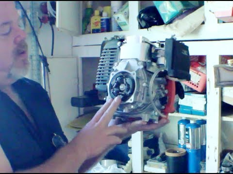 How To Build 4 Stroke Motorized Bicycle Part 1 Unboxing Prepping Frame
