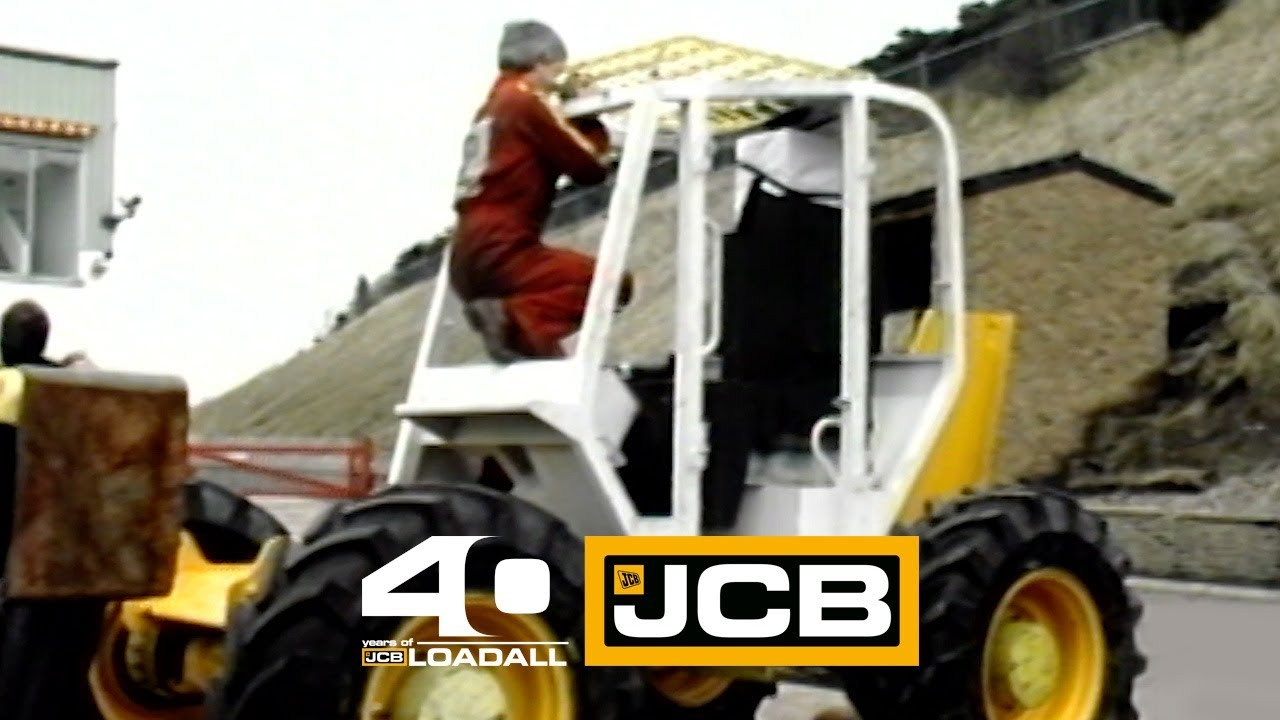 JCB Cab Drop test - Celebrating 40 Years of Loadall