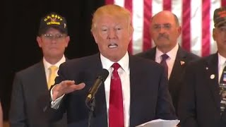 Trump Details $5.6M Contributions to Veterans' Groups