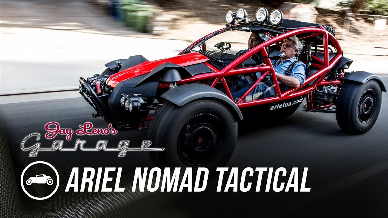 Ariel Nomad Price >> 2017 Ariel Nomad Tactical Jay Leno S Garage