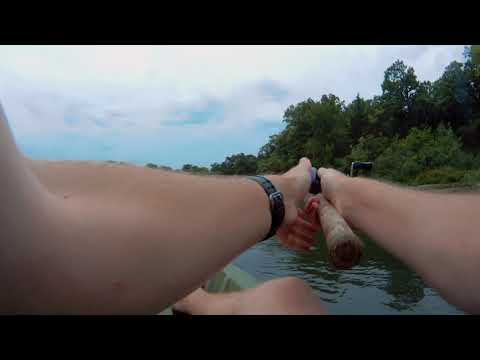 Geary County State Fishing Lake For Largemouth & Smallmouth Bass (Episode 1 - August, 19, 2018)