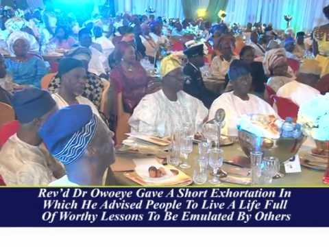 FORMER NIGERIA'S MINISTER FOR HEALTH  PROF EYITAYO LAMBO AT 70