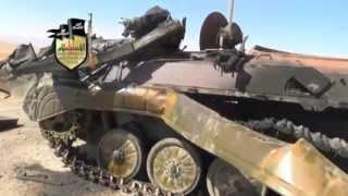 Сирия. Уничтожние армии и танков режима... Сентябрь 2013.
