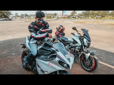 Daman to Mumbai Ride on Yamaha R1 | Reached 237 kmph