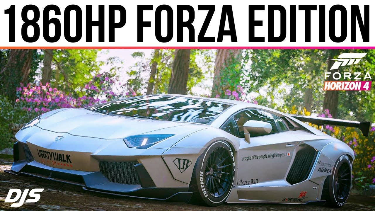 Forza Horizon 4 Rare 1860hp Lamborghini Aventador Forza Edition