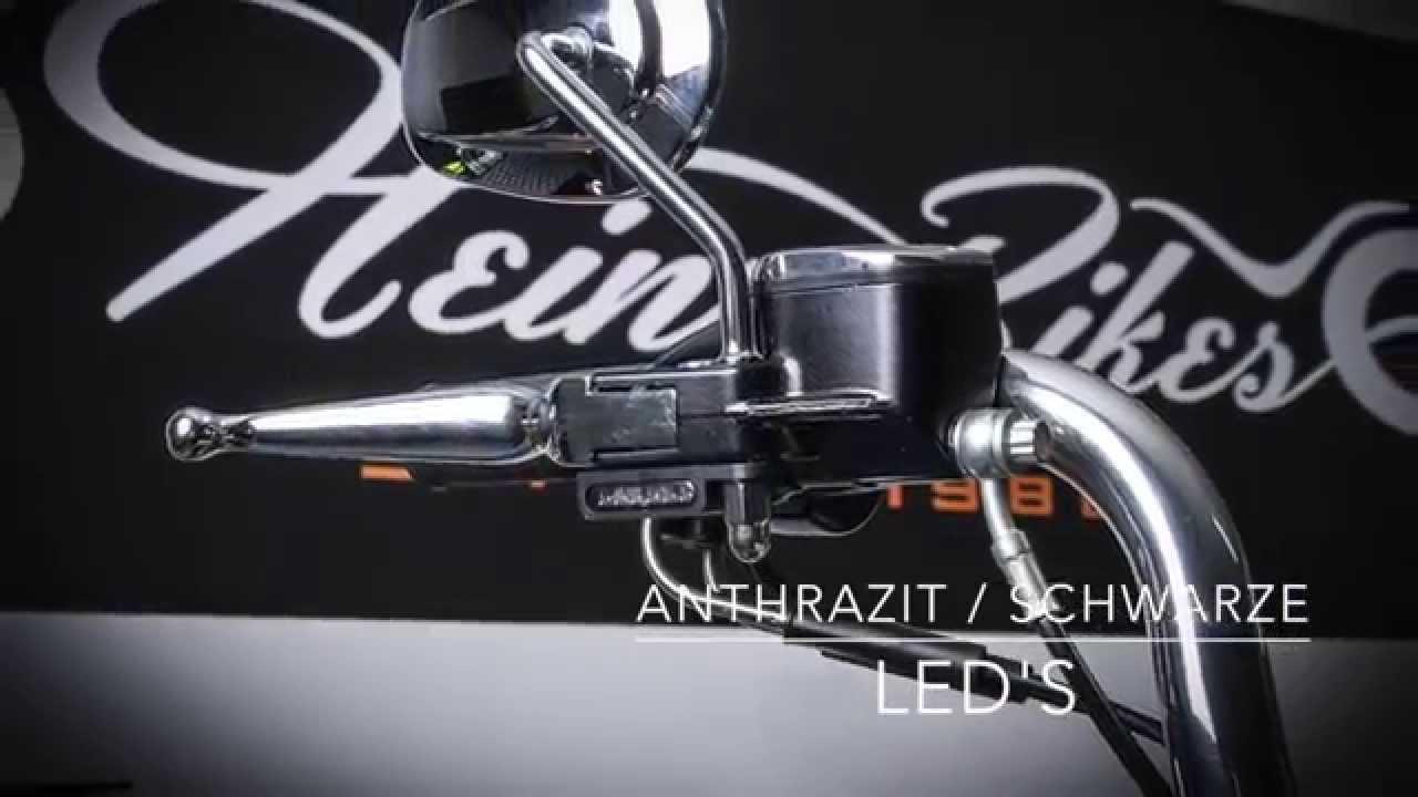 Heinzbikes Led Lenker Armaturen Blinker F 252 R Harley
