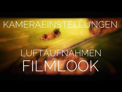 FilmLook Tipps Luftaufnahmen Drohne Dji Mavic Pro Air Kameraeinstellungen Settings Test deutsch