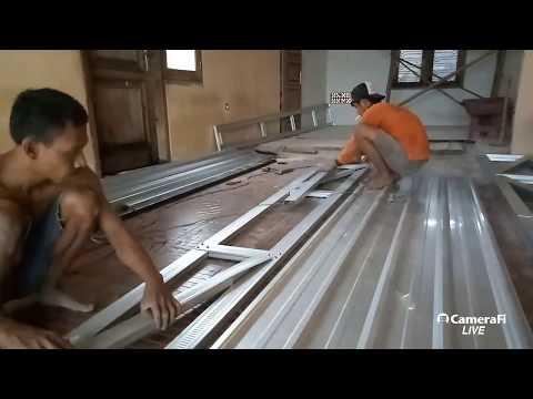 membuat kanopi dengan bahan baja ringan