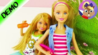 BARBIE + její sestry  - mladší sestra Barbie - STACIE - 2 panenky v setu
