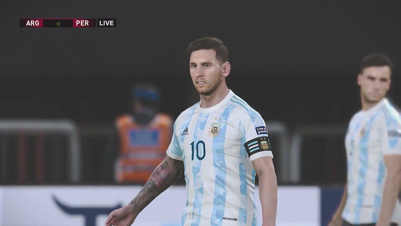 Argentina vs. Peru [1-0] | Eliminatorias Qatar 2022 - CONMEBOL | Partido Completo - Oct. 14