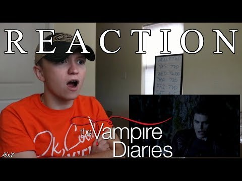 The Vampire Diaries S5E7 'Death And The Maiden' REACTION