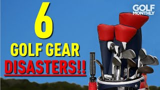 HOW TO AVOID 6 GOLF GEAR DISASTERS!!