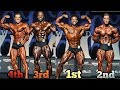 Mr Olympia 2017 Classic Physique - Results ( TOP 5 Highlights )