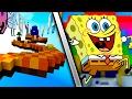 Minecraft Parkour en la dimension de BOB ESPONJA | FONDO DE BIKINI OCUPA NUESTRA AYUDA!!