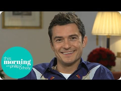 Orlando Bloom's Son Loves Pirates of the Caribbean | This Morning