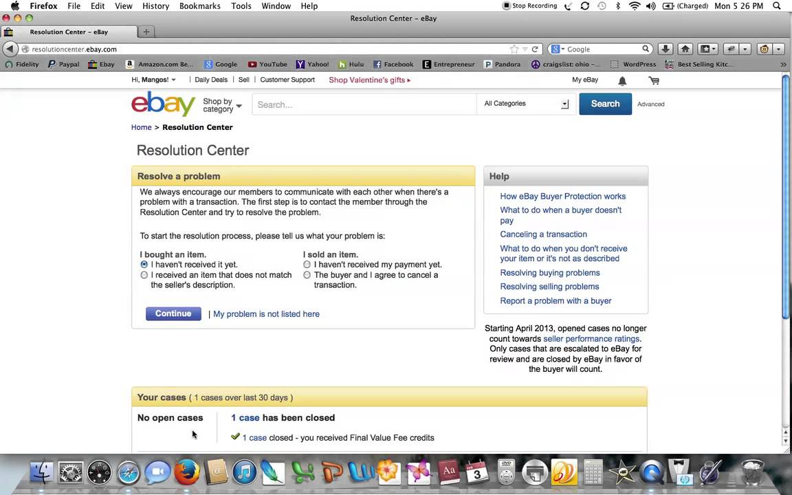 Ebay Insertion Fee >> Requesting Your Ebay Final Value Fees After A Return