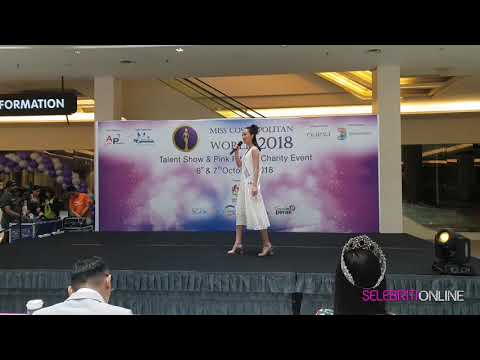 Miss Cosmopolitan World 2018 Talent Show - China Beijing