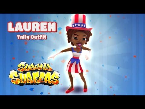 Subway Surfers Washington DC - Lauren Tally Outfit Gameplay