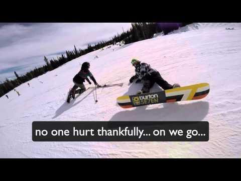 Download Snowboarding Really FAST: 50mph: Crash: At Wolf Creek, Pagosa Springs, Colorado. Pics