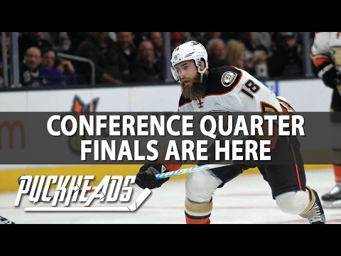 NHL Conference Quarterfinals | Puckheads | NHL Picks