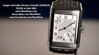 Jaeger-LeCoultre Reverso Grande 8 Days Q3008120 on Stainless Bracelet