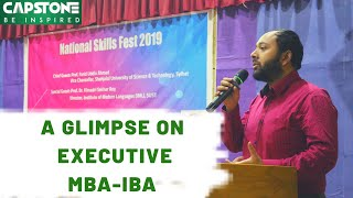 A Glimpse On Executive MBA-IBA