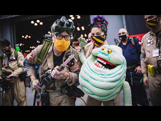 Adam Savage Incognito at New York Comic Con 2021!