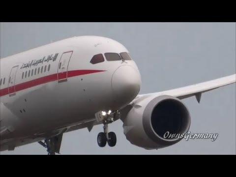 United Arab Emirates Boeing 787 BBJ Test Flight @ KPAE Paine Field