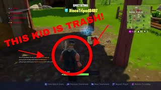Fortnite: Battle Royale - Getting Carried By Q While Getting Killed By Trash