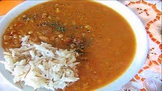 Фасоль в томатном соусе \ Kuru fasulye. Турецкая кухня