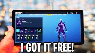 "How to Get ""GALAXY SKIN FREE"" in Fortnite 2019 *WORKING* (Free GALAXY SKIN BUNDLE)"
