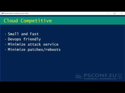 PowerShell Core – why and what? (Jeffrey Snover MSFT)