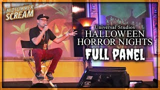 HHN 2019 Full Panel Presentation at Midsummer Scream