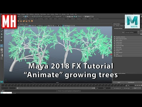 Maya 2018 Tutorial : How to