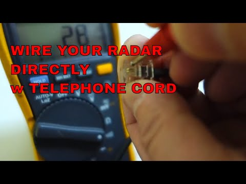 Make Power wire for your Escort or other Radar Detector easily!