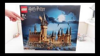 LEGO 71043 Hogwarts Castle 开箱+简单动手玩儿