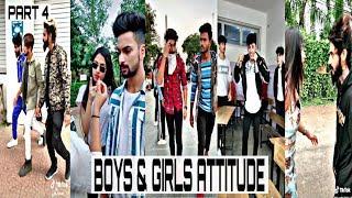 Boys & Girls Attitude | New TikTok Mix Tap Compilation Video | Part 4 |