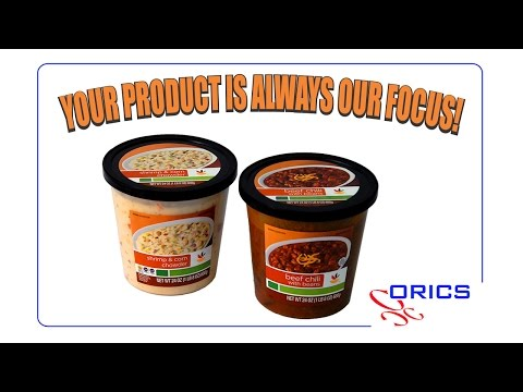 ORICS Hot Soup Cups Filler Sealer Machine,  Packaging Systems