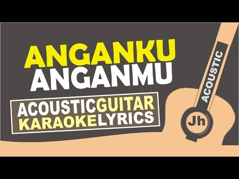 Raisa & Isyana Sarasvati - Anganku Anganmu (Karaoke Acoustic)